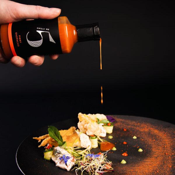 Hot Tomato Chilli Sauce for Burgers