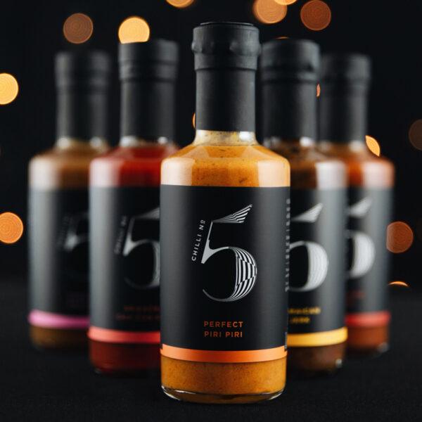 Chilli No. 5 - Sauce-For-Life - Bottles