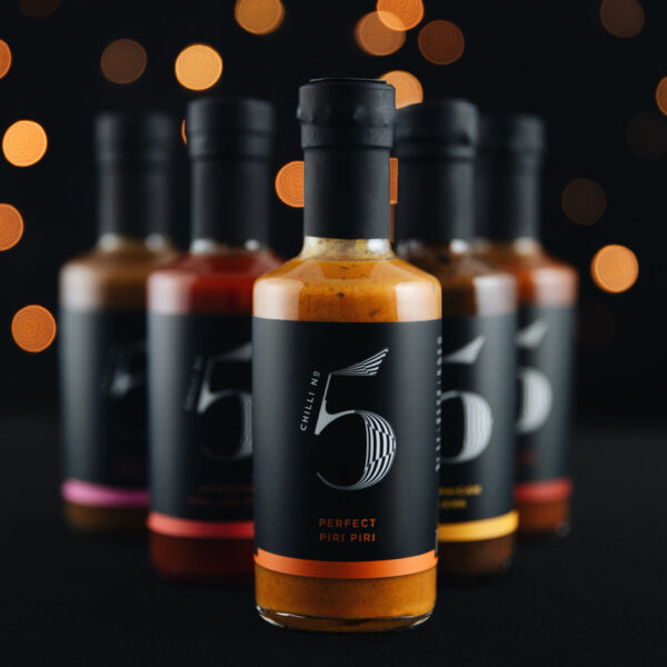 Chilli-No.5-Sauce for Life Monthly Hot Sauce Bottle Subscription Service Bottles