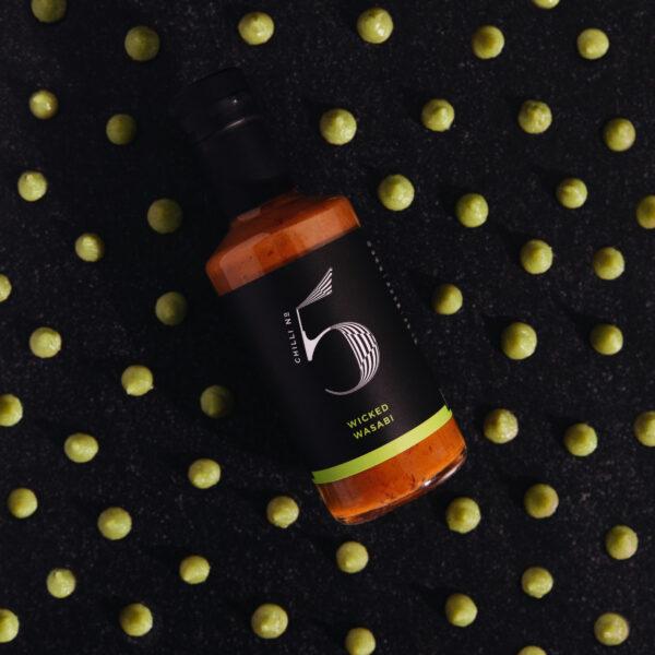 Gesunde Gourmet-Wasabi-Sauce - Luxuswürze - Chili Nr. 5