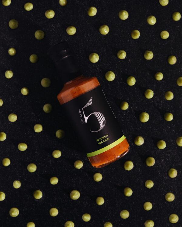 Healthy Gourmet Wasabi Sauce - Luxury Condiment - Chilli No. 5