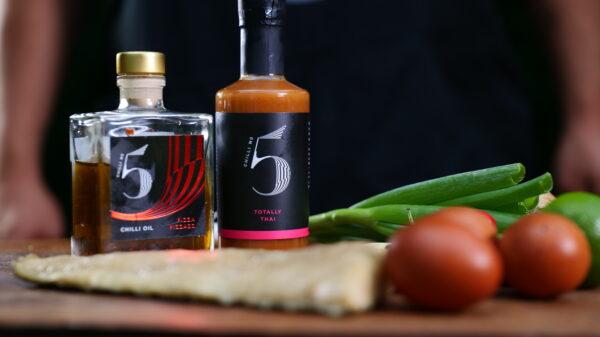 Thai chilli sauce - with Smoke Thai Fishcakes - Chilli No. 5