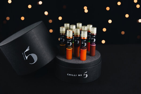 Chilli No. 5 - Dining Collection - Healthy Hot Sauce Gift Set