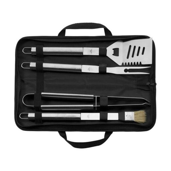 Chilli No. 5 BBQ set of 4 tools