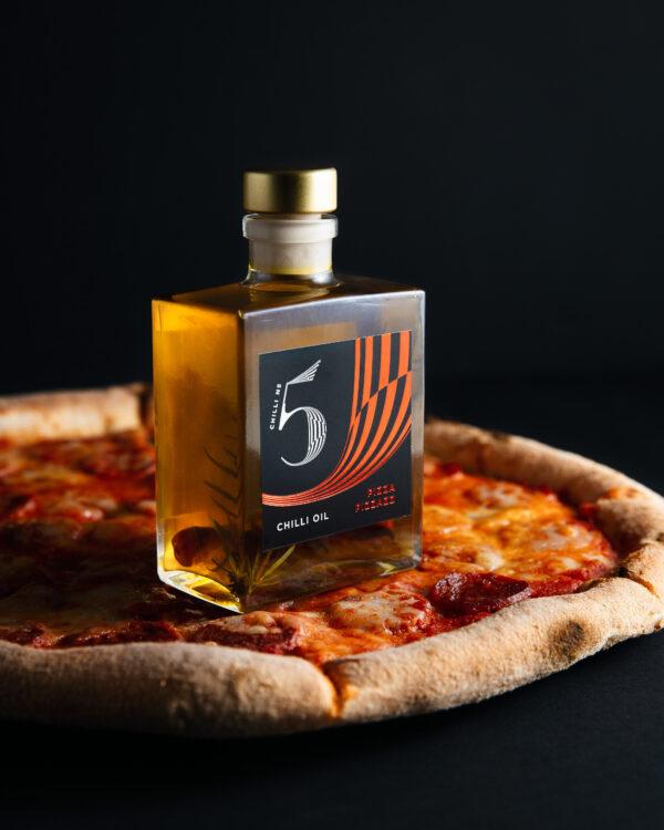 Chill No. 5 - Healthy Vegan Hot Chilli Oil - Pizza Pizzaz