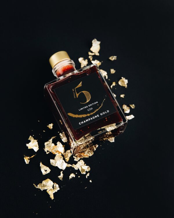 Luxury Hot Sauce with Gold & Champagne - Chilli No. 5
