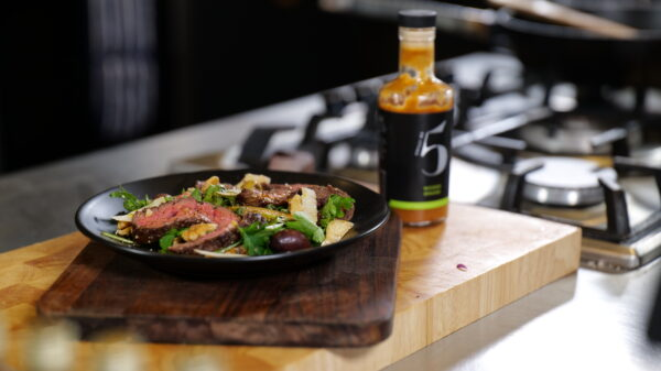 Chilli No. 5 - Beef Taliata with a Wasabi kick - Superfood Mondays