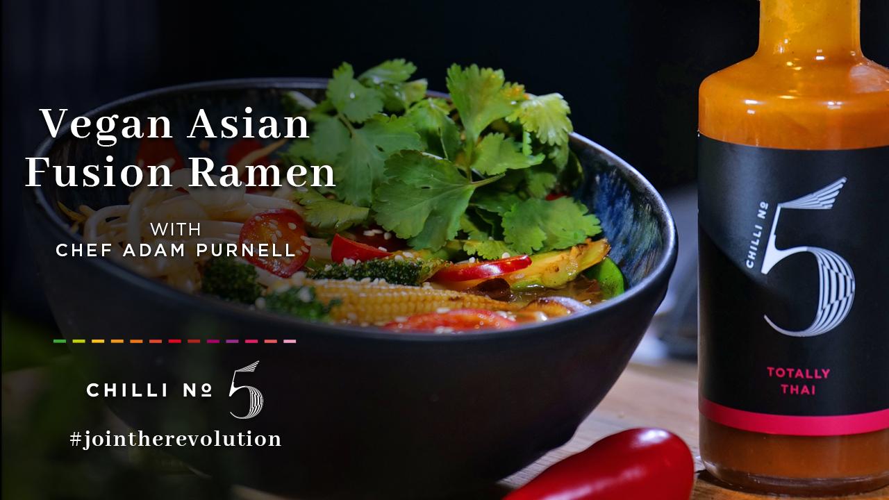 Chilli No 5 Asian Fusion Vegan Ramen