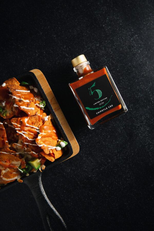 Chill No. 5 - Healthy Vegan Hot Sauce - Chipotle CBD