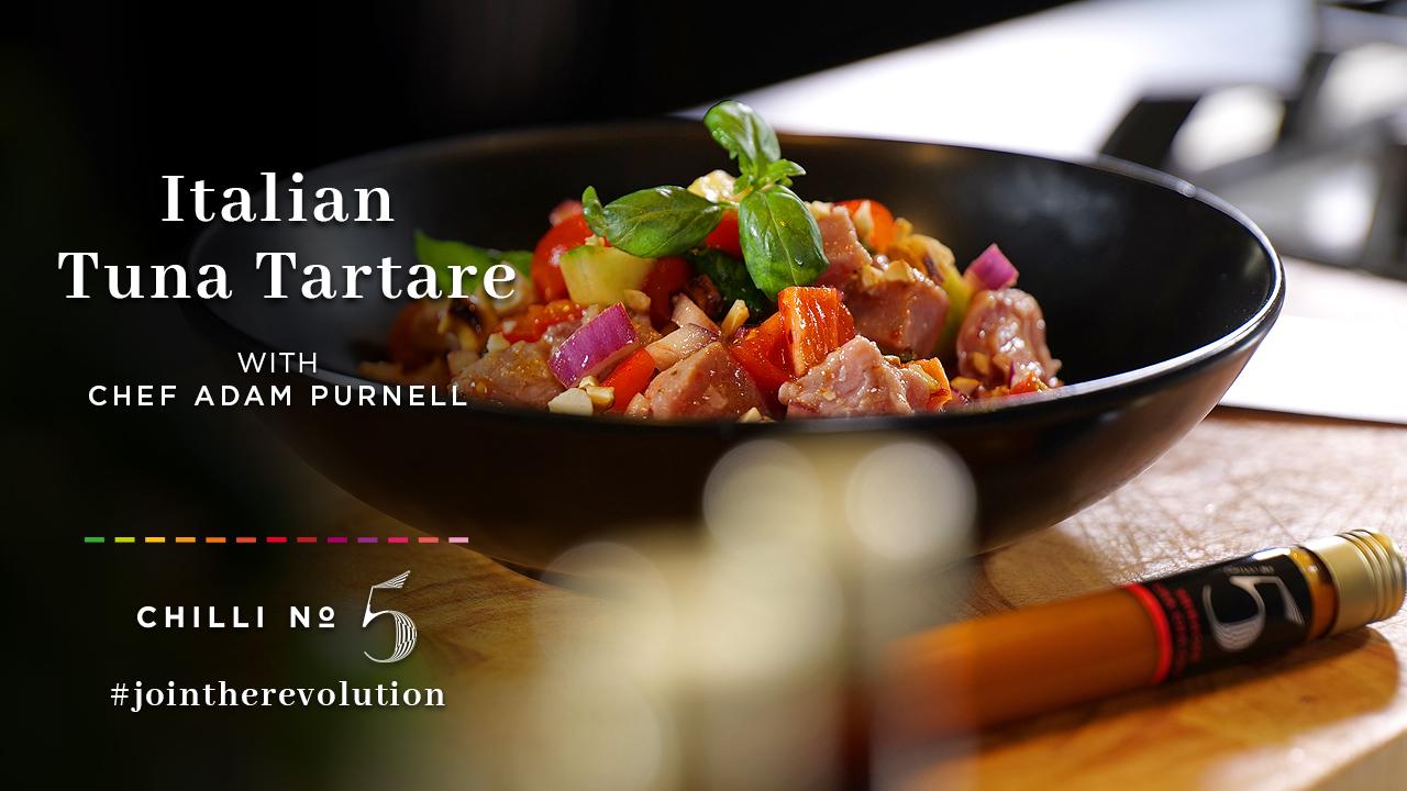 Chilli No. 5 - Superfood Mondays - Italian Tuna Tartare