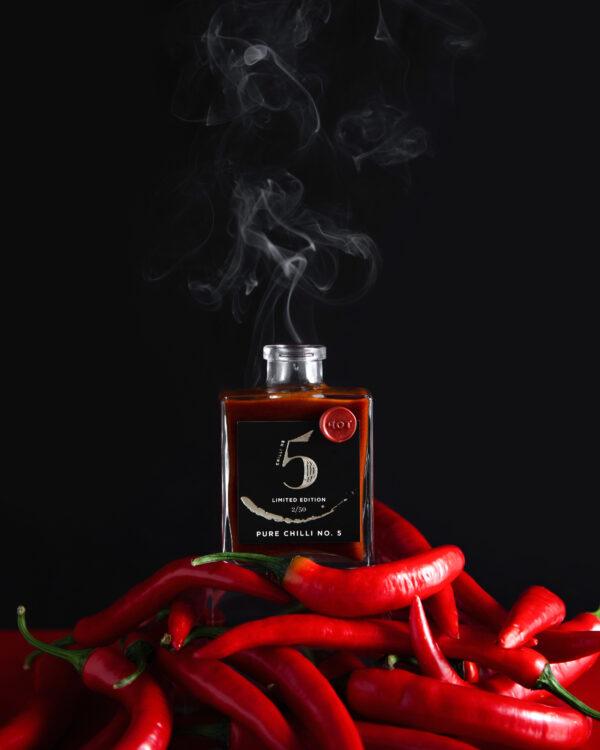Chilli No. 5 - Healthy Hot Vegan Sauce - Pure Chilli No. 5