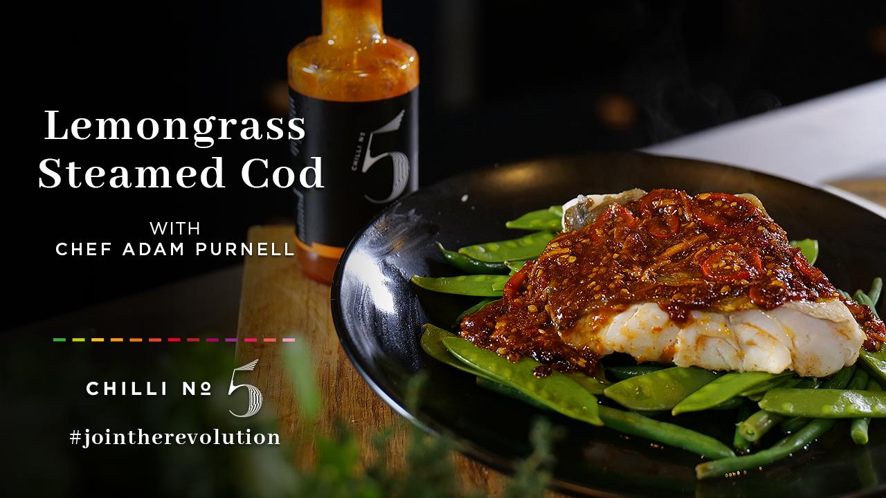 Chilli No. 5 - Superfood Mondays - Lemongrass Steamed Cod