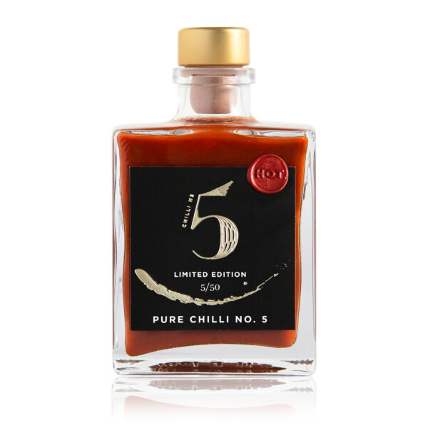 Chilli No. 5 - Healthy Hot Vegan Sauce - Pure Chilli No. 5