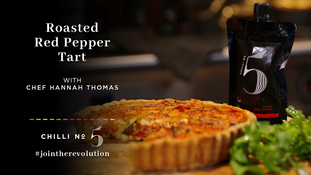 Chilli No. 5 - Superfood Mondays - Healthy Hot Vegan Sauce - Red Pepper Tart