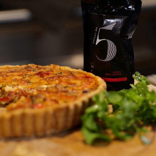 Chilli No. 5 - Healthy Vegan Hot Sauce - Superfood Mondays - Red Pepper Tart