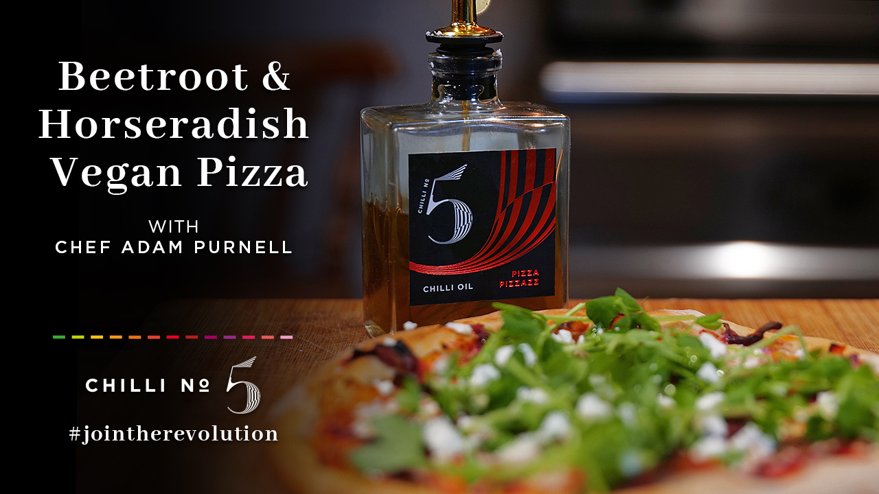 Vegan Pizza - Superfood Mondays - Chilli No.5