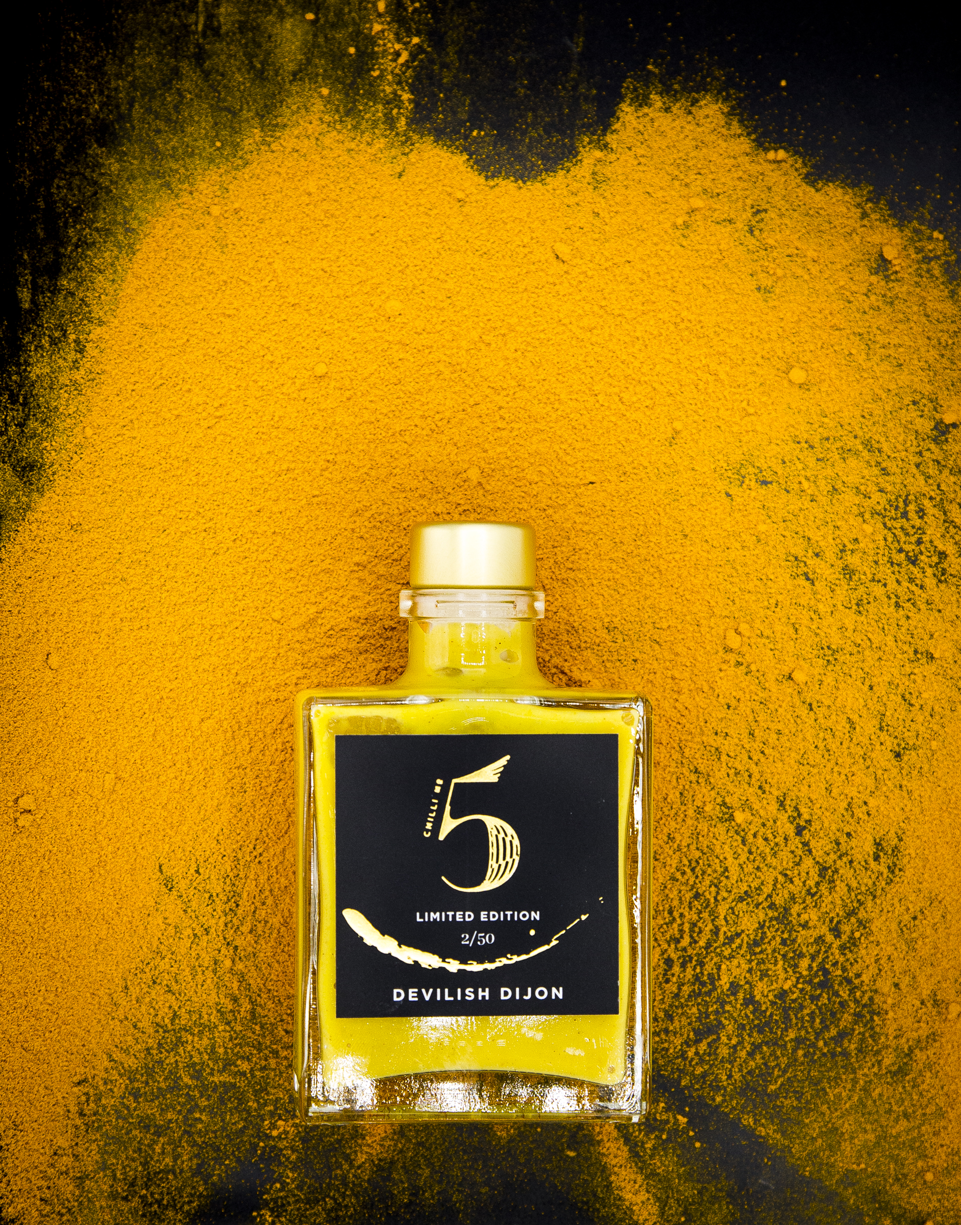 Best Spicy Dijon Mustard Sauce-Devilish Dijon-Spicy Hot Sauce Mustard