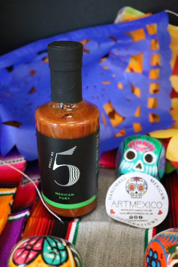 Mexican Fury Healthy Habanero Hot Sauce - Chilli No. 5